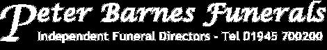 Funeral Director Wisbech | Peter Barnes Funerals